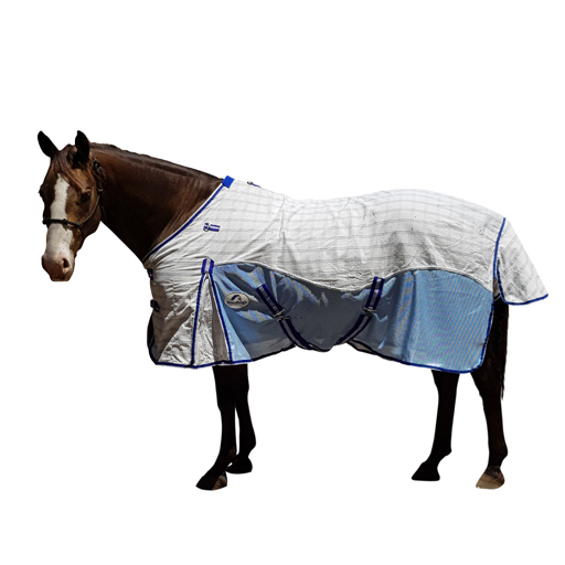 Limited Edition Blue Cotton Hybrid Ripstop Horse Rug